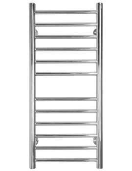 Midi Slim Flat Electric Towel Radiator 360mm x 810mm - SS205E