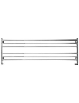 Long And Low Dual Fuel Heated Towel Radiator 1500 x 440mm
