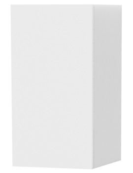 New York White Single Door Storage Cabinet 275 x 590mm