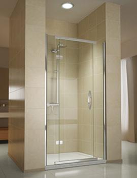 Beo Infinite Recess Hinged Shower Door 760mm