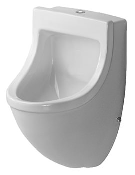 Starck 3 Urinal With Visible Inlet 350 x 350mm -0822350000