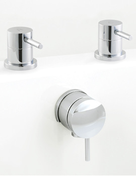 Mini Bath Freeflow Filler And Side Valves
