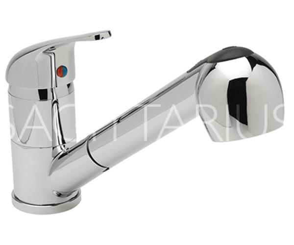Prestige Kitchen Sink : ... of Sagittarius Prestige Pull Out Twin Spray Kitchen Sink Mixer Tap