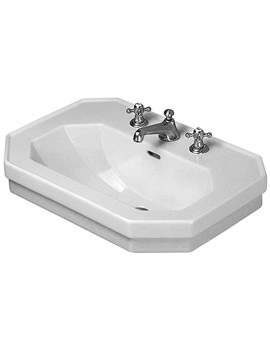 1930 Series 600mm 3 Tap Hole Washbasin - 0438600030