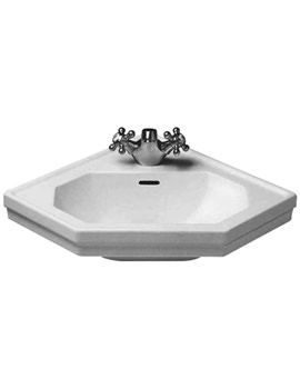 1930 Series 1 Tap Hole Handrinse Corner Basin 595mm