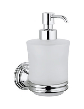 Belgravia Glass Soap Dispenser And Holder - BL011C