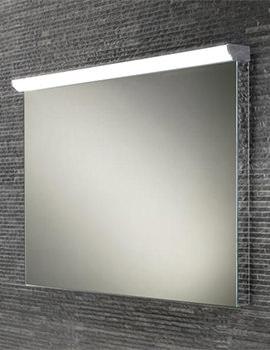 HIB Fleur Steam Free Mirror With LED Top Illumination 800 x 635mm