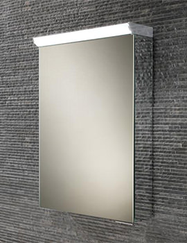 Related HIB Flux Compact LED Top Illuminated Mirror Cabinet 400 x 600mm