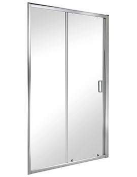 Twyford ES200 Sliding Shower Enclosure Door 1400mm - ES29500CP
