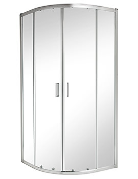 Twyford ES200 Quadrant Shower Enclosure 900 x 900mm - ES25700CP