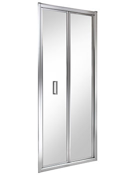 Twyford ES200 Bi-Fold Shower Enclosure Door 900mm - ES25200CP