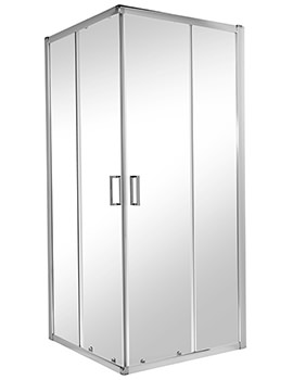 Twyford ES200 Corner Entry Shower Enclosure 900 x 900mm