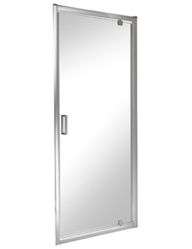 Twyford ES200 Pivot Shower Enclosure Door 900mm - ES25100CP
