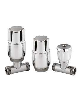 Straight Thermostatic Radiator Valve Pack - HT325
