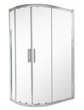 ES400 Offset Quadrant Shower Enclosure 1200 x 900mm