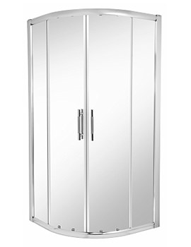 ES400 Quadrant Shower Enclosure 900 x 900mm - ES45700CP