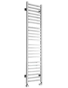 Mega Slim Square Dual Towel Radiator 360 x 1600mm - SS-400SQ