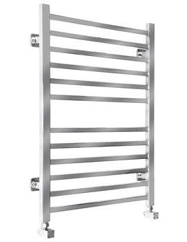 Midi Square Dual Fuel Towel Radiator 520 x 810mm - SS-200SQ