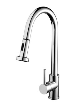 Bristan Apricot Sink Mixer Tap With Pull Out Hose - APR PULLSNK C