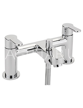 Sagittarius Plaza Deck Mounted Bath Shower Mixer Tap With Kit