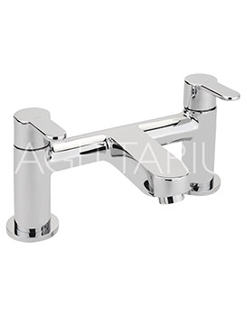 Sagittarius Plaza Deck Mounted Chrome Bath Filler Tap - PL-104-C