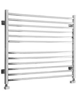 Midi Wide Square Electric Towel Radiator 1000 x 810mm