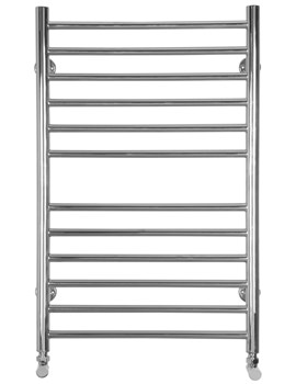 Midi Flat Electric Towel Radiator 520 x 810mm - SS200E