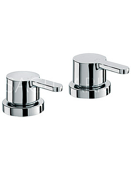 Sagittarius Plaza 3-4 Inch Deck Mounted Chrome Side Valve