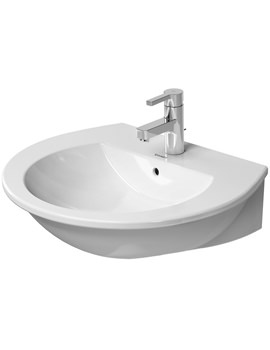 Related Duravit Darling New 600mm 1 Tap Hole Washbasin - 2621600000