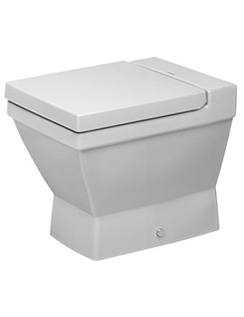 Duravit 2nd Floor Floor Standing Toilet With SoftClose Seat