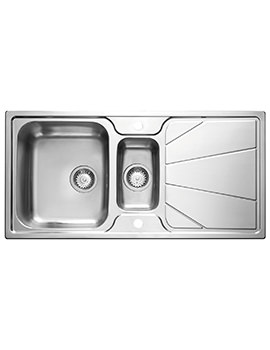 Related Astracast Korona 1.5 Bowl Polished Stainless Steel Inset Sink