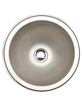 Orb 1.0 Bowl Brushed Stainless Steel Inset Sink
