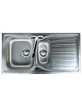Alto 1.5 Bowl Stainless Steel Inset Sink
