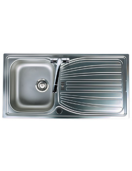 Alto 1.0 Bowl Stainless Steel Inset Sink