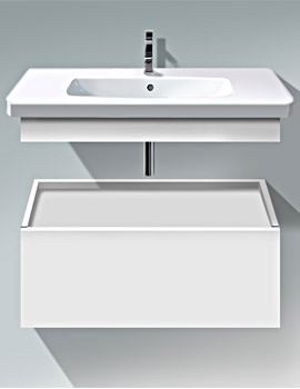 Duravit DuraStyle 930mm Low Cabinet With Trim And Basin - DS 6282