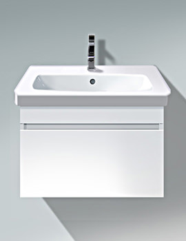 Related Duravit DuraStyle 600mm White Matt Wall Mounted Vanity Unit With Basin