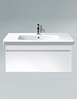 Duravit DuraStyle 1000mm White Matt Wall Mounted Vanity Unit With Basin
