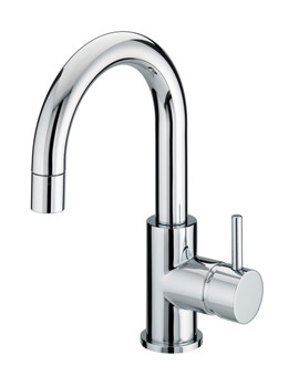 Prism Side Action Basin Mixer Tap With Pop-Up Waste - PM SABAS C