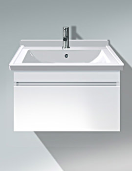 DuraStyle 650mm Vanity Unit With 700mm Starck 3 Basin
