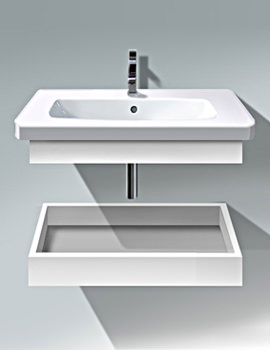 Duravit DuraStyle 730mm Shelf With Trim And Basin - DS618101818