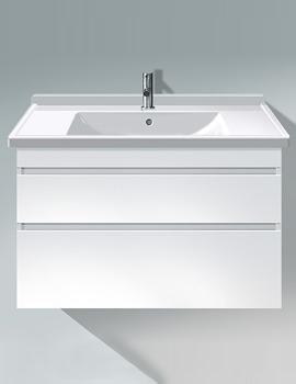 Duravit DuraStyle 1000mm 2 Drawer Vanity Unit With 1050mm Basin