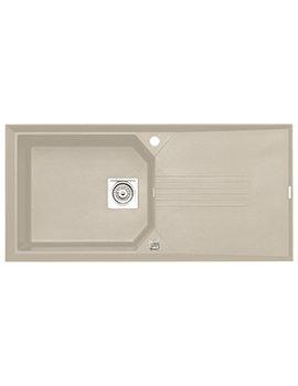 Helix 1.0 Bowl Composite ROK Granite Inset Sink
