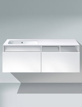 Duravit DuraStyle 1400mm 1 Cut-Out Unit For Undercounter Basin