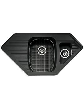 Vector 1.5 Bowl Composite ROK Metallic Inset Sink