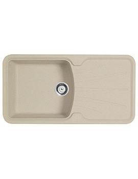 Astracast Korona 1.0 Bowl Composite ROK Granite Inset Sink