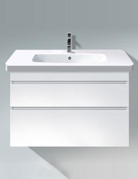 Duravit DuraStyle 930mm White Matt Vanity Unit With Basin