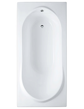 Reserva Single Ended Easyflow Acrylic Bath 1700 x 800mm