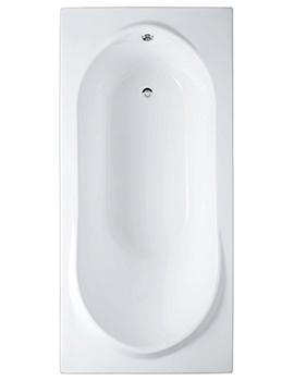 RAK Reserva Single Ended Easyflow Acrylic Bath 1700 x 800mm