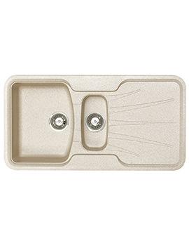 Korona 1.5 Bowl Composite ROK Granite Inset Sink