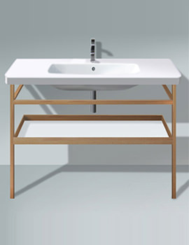 Related Duravit DuraStyle 1200mm Basin With Towel Rail And Shelf